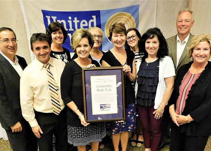 Group Picture of CBNA Macsherry Award